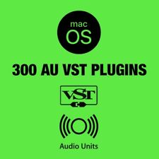 300 AU & VST Plugins for Mac / Instruments & FX / 45 GB / Music Production Pack