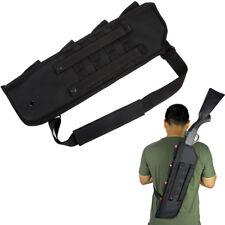 """19"""" Tactical Shotgun Scabbard MOLLE Shoulder Sling Carry Case Padded Rifle Bag"""