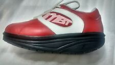 Women's MBT Walking  Shape - up  Toning Shoes Red White  Women's USA Size 5