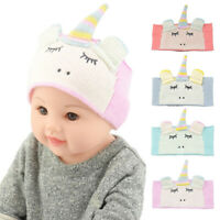 Cartoon Baby Boys Girls Ear Protection Hair Band Headband Knitting Headwear Gift