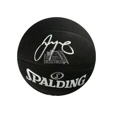 Jayson Tatum Autographed Black Spalding Basketball - Fanatics