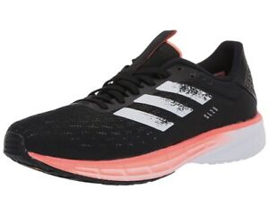 NEW! Adidas Mens Sl20 Core Black/White/Signal Coral Running Shoes Sz 13 EG1144