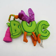 Word World Plush BUG Magnetic Stuffed Pull Apart Educational Toy