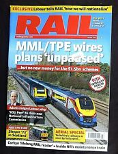 "Rail  14th October 2015. MML/TPE wires plans ""unpaused"", Yorkshire Railways."