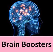 Concentración de enfoque cerebro Boosters píldoras comprimidos estudio ayuda mental mejora UK