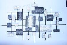 Luxury Metal Wall Decor / Art - Abstract Irregular Rectangle Pattern - On Sale