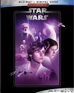 Star Wars: A New Hope Blu-ray + Digital   NEW *Factory Sealing Torn*