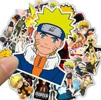 50pcs Naruto Ninja Kakashi Hatake Vinyl Decal Stickers Laptop Waterproof Phone