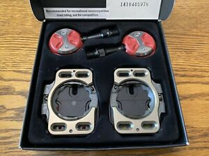 Speedplay Light Action CHROME-MOLY Clipless Road Pedals & Cleats RED
