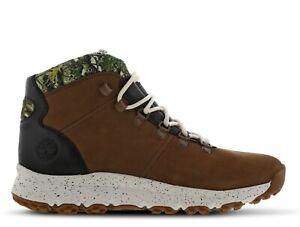 Timberland World Hiker Mid - Men Boots Size 7 Browns BNIB