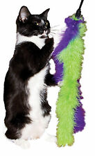 Cat Marabou Double Feather Boa Teaser Wand Cat Toy Toys Kitty
