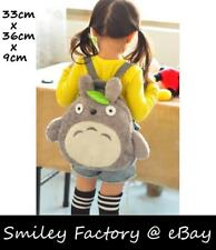 Super Cute Soft Touch Plush Totoro Backpack for Kids Student Schoolbag Satchel
