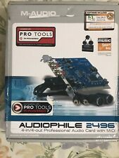 M-Audio Audiophile 2496 4-In/4-Out Professional Audio Card with MIDI