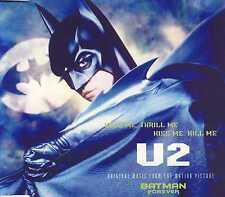 U2 - Hold me thrill me kiss me kill me 3TR CDM 1995 POP ROCK / BATMAN