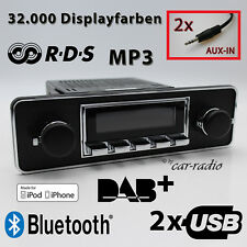 RetroSound San Diego DAB + ensemble complet Trim Oldtimer radio usb mp3 bluetooth