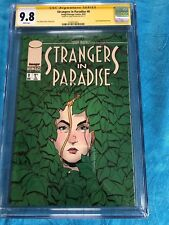 Strangers in Paradise v3 #8 - Image - CGC SS 9.8 NM/MT - Signed by Terry Moore