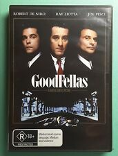 GoodFellas  DVD - Region 4 Robert Deniro, Ray Liotta, Joe Pesci