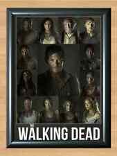 The Walking Dead Season 3 Cast Daryl Dixon Norman Reedus Photo Print Poster TV