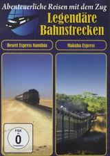DVD* LEGENDÄRE BAHNSTRECKEN - DESERT EXPRESS NAMIBIA # NEU OVP ~