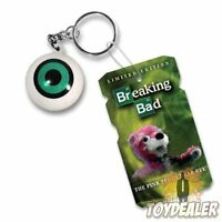 Breaking Bad Pink Teddy Bear Eye Walter White NYCC 2013 Exclusive Keychain Mezco