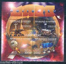 BURUNDI 2012  'NASA MARS CURIOSITY'  EXPLORATION OF MARS  SHEET MINT NH