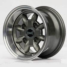 "ULTRALITE CLASSIC MINI WHEELS 10"" x 6J ET-3 ANTHRACITE ALLOYS WHEEL SET 4  Z0709"