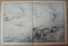 Gravure de R. Pinard vers 1930 Le Jutland