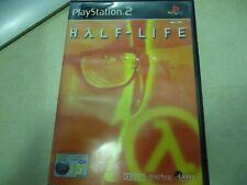 PS2 HALF - LIFE manual juego caja español PAL