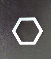Sizzix Die Cutter HEXAGON SHAPE 3cm x 3.5cm  Thinlits fits Big Shot Cuttlebug