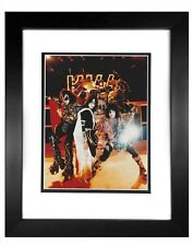 KISS  -  009  8x10 Photo Framed 11x14