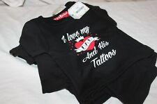 Lot 9 T-Shirt Bébé / Enfant - Lil Rocker By Darkside - Dad Tattoos Avec defauts