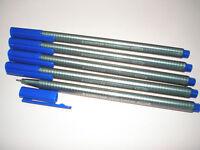 5 x STAEDTLER Feinschreiber triplus® fineliner 334-3 blau 0,3mm Dreikant NEU