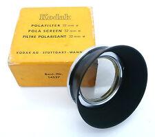 Vintage Kodak Pola-Filter with Metal Lens Hood 32mm for Kodak Retina Free UK P&P