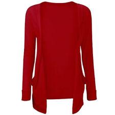 Pulls et cardigans rouge à manches longues pour fille de 2 à 16 ans
