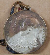 King George V & Queen Mary Silver Jubilee Medal May 6th silvered bronze