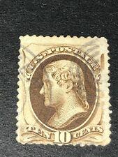 Scott #188 (Used) Scv: $32.50 Vg N/G