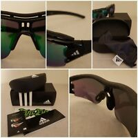 Adidas EVIL Eye Halfrim PRO XS Sports Shiny Black Sunglasses BNIB a199 00  6090 45cfd389cf