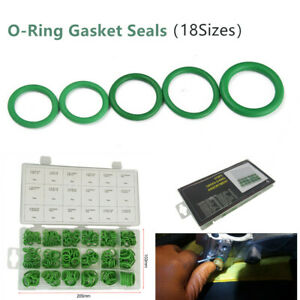 270PC×Rubber O-Ring 18 Sizes AC A/C System Gasket Seals Washer Rapid Seal Repair