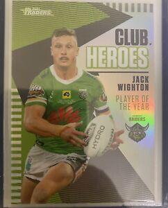 2021 TLA NRL TRADERS '2020 CLUB HEROES' CARD Jack Wighton