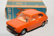 PIKO PLASTIC 1/20 FIAT 127 ORANGE MINT BOXED RARE SELTEN RARO