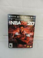 NBA 2K20 Anthony Davis LAKERS Display box PS4 XBOX ONE  GameStop Promo Rare