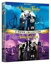 ADDAMS FAMILY + ADDAMS FAMILY VALUES New Sealed Blu-ray 2 Movie Collection
