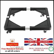 Heavy Duty Wheeled Stable Square Washing Machine Appliance Rollers Trolley