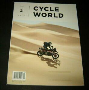 Cycle World Magazine Issue # 2 - 2019
