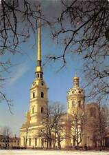 Russia Saint Petersburg church Peter and Paul Cathedral