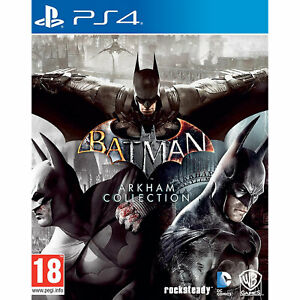 Batman Arkham Collection PS4 inc Arkham Knight, City & Asylum New and Sealed