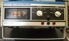 KONTRON DMM 3001 Digital Multimeter inkl. Tastkopf anno 1974