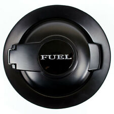 08-16 FUEL GAS CAP DOOR LID COVER MATTE BLACK FILLER DOOR FOR CHALLENGER