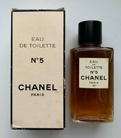 Chanel NO 5 Eau de Toilette 118 ml 4 fl oz rare vintage