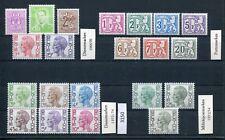 Belgien Lot Dienst-, Porto- und Militärpostmarken  **  Postfrisch (3150)